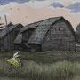 原太一 作品「牧場あとにて」