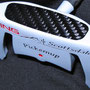 Customized Ping Pickmeup in frost white with carbon fiber insert
