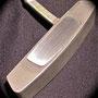 Ping G2i Anser aluminum insert, brushed finish.