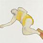 o. T. aus der Serie einschlafen I, Öl auf Leinwand, 60 x 80 cm, 2010
