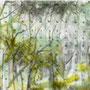 o.T. aus der Serie Kalenderblätter, Mischtechnik auf Papier, 21, 5 x 28 cm, 2012
