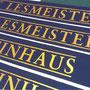 Weinhaus Lesmeister in Kommision von Rolladen HESSE, Aachen