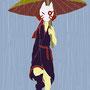 (雨雨降れ降れ ニイロ)