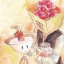 (花茶を君に。 ハナモリとテア嬢)