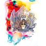 visob | 300 x 400 mm| watercolor pigmentliner |