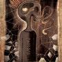 visob |skull|400x480mm | acryl on paperboard |