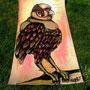 vogelmann | 200 x 70 cm | marker - acryl on paperboard |
