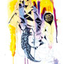 visob | 300 x 400 mm| watercolor pigmentliner | sold