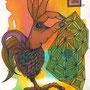 aha(h)nd  105 x 148   watercolor pigmentliner   2011