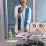 今回の池田夢見・母の日ライブの総合司会は、花ちゃん。MCは本業なのです。。。。