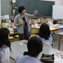 6月12日、貝塚市立第二中学校にキイロさんを招いて講習会を実施。