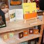 店内では「キイロノハサミ」さんの個展が開催されています。