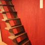 さらに小さな階段を上がって行くと、