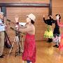 奥様の田中弘子さんは、健康体操の先生。yosakoiソーリャ!にも尽力されている方です。