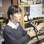 大阪府立大学ボランティアセンターから松居勇さんも視察に来られました。