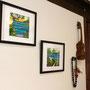 絵やウクレレなど、さりげないハワイの雰囲気を楽しめます。