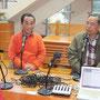 左が塾長の平井二嗣(つぐじ)さん。コメンテーターはツリーハウス名人の前尾幸一さん。