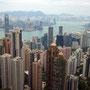 Aussicht vom Hongkong Peak