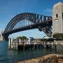 Kirribilli, Aussicht auf Harbour Bridge