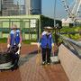Hongkong Island am frühen Morgen - alles wird blitzblank!