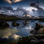 Sunset beim Stellisee - Matterhorn