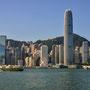 Auf der Fähre Richtung Kowloon