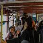 Fahrt im Hongkong Tram 'Ding Ding'