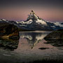 Sunrise beim Stellisee - Matterhorn