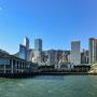 Mit der Fähre von Hongkong Island nach Kowloon