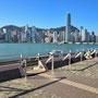 Sicht von Kowloon nach Hongkong Island