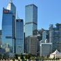 Hongkong Island am frühen Morgen -