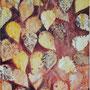 """""""Condolences of a Season"""", acrylic on canvas, 20""""x16"""", 2005. Private Collection."""