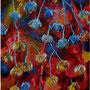 """Ravine Series #3, acrylic on canvas, 16""x12"", 2005."