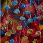 """Ravine Series #3, acrylic on canvas, 16""x12"", 2005. NFS"