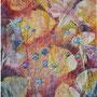 """""""Summer Diary"""", acrylic on canvas, 20""""x16, Framed. 2005. NFS"""