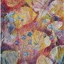 """Summer Diary"", acrylic on canvas, 20""x16, Framed. 2005. Artist's Collection."
