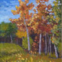 """Big Bear Park"" Version 2, acrylic on canvas, 20""x16"", 2009. NFS"