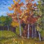 """Big Bear Park"" Version 2, acrylic on canvas, 20""x16"", 2009."