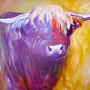 Schalk im Nacken: Acryl auf Leinwand, 130 x 100 cm