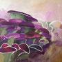 Schwarmbewusstsein II: Acryl auf Leinwand, 80 x 100 cm