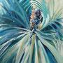 Plant dynamics green: Acryl auf Leinwand, 60 x 50 cm