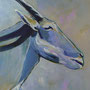 Adel verpflichtet: Acryl auf Papier, 50 x 64 cm