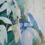 Wasserpflanzen, 50 x 64 cm
