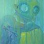 Mystery dive: Acryl auf Leinwand, 60 x 80 cm