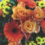 Und es gibt Blumen. Wie ich das an meinem Beruf liebe!