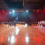 """""""Nationalhymne""""beim Endspiel um die deutsche Basketball- Meisterschaft  © by Christian Martin"""