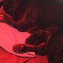 Yago - 4 Tage alt - kuschelt gern mit Mama Texa