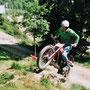 2013: Beim Training, der Weg ist frei für Höheres...
