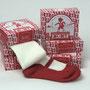 エクスポート「赤い靴下」