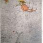 Comme un papillion, Alch./Froiss., signed 1974, 30 x 20,5  € 1.500
